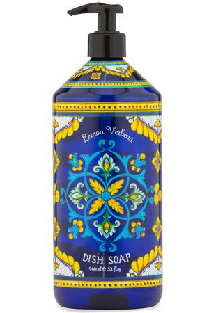 Dish Soap Deruta Blu Lemon Verbena
