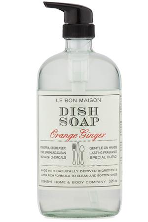 Dish Soap Le Bon Maison Orange Ginger