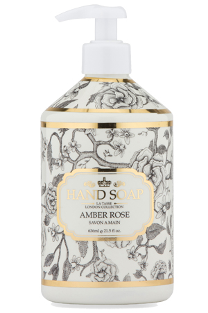 Hand Soap La Tasse London Amber Rose
