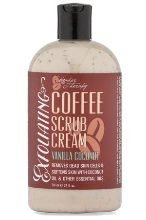 Scrub Cream Wonder Therapy Coffee Collection Vanilla Coconut
