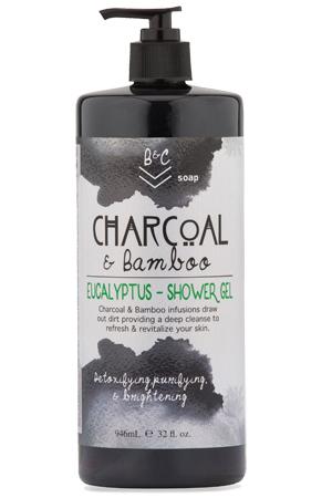 Shower Gel B&C Soap Charcoal Bamboo
